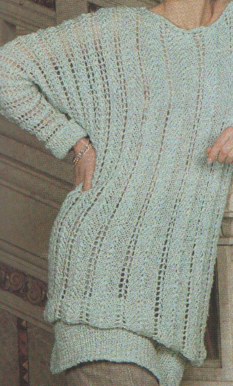 Elegáns esti pulóver