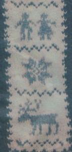 Norvégmintás pulóver