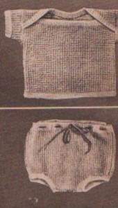 Kötött pulóver és kis nadrág