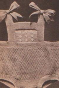 Kötött tartó nadrágocska