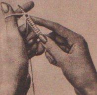 Kötés kezdése