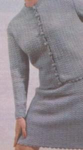 Horgolt kosztüm