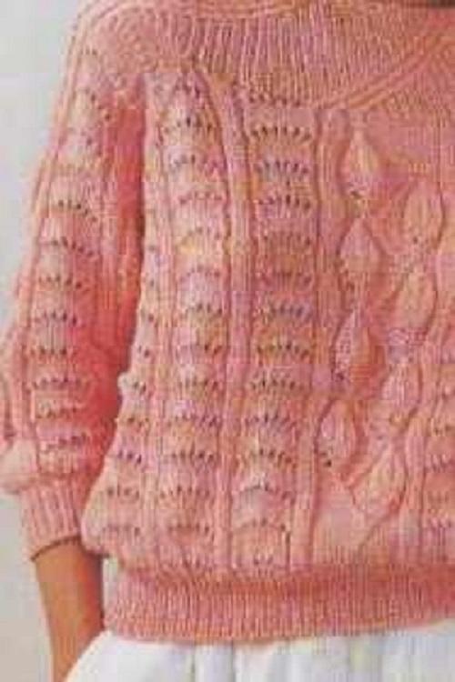 Varázslatos női pulóver Kötés HorgolásKötés – Horgolás
