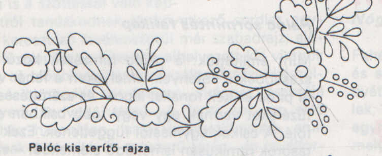 Palóc-kis-terítő-rajza