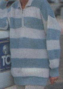 Galléros női pulóver