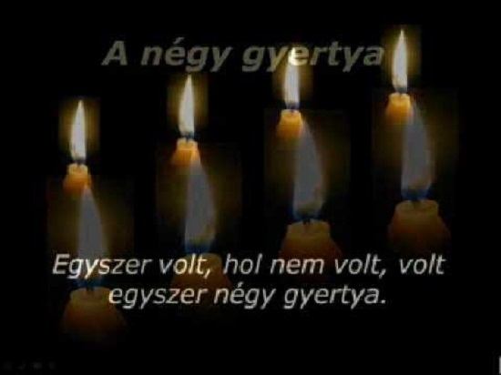 advent-negy-gyertya