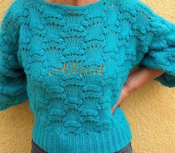 Kötött női pulóver - Kötés - HorgolásKötés – Horgolás d8972cbb9d