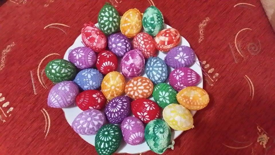 horgolt tojasok