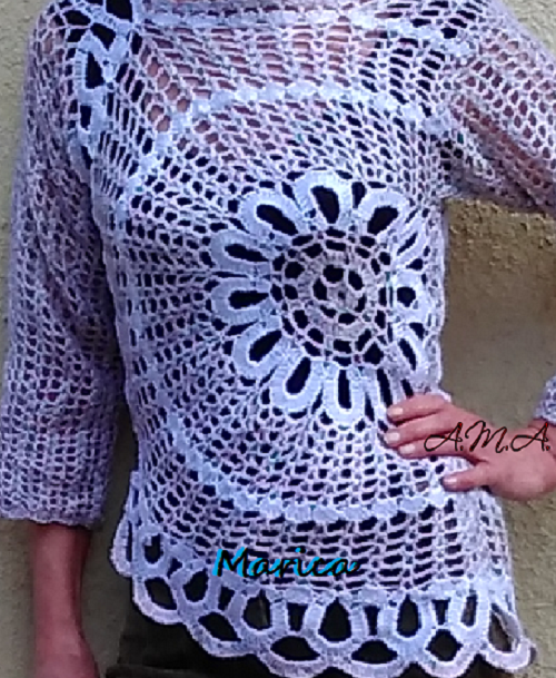 931cc361dd Szellős pulóver, amit nyáron is szívesen felveszünk. Hűvösebb napakon egy  melegebb polóval is csinos. Kicsit variáltam a színekkel, /bontott fonal/  újra ...