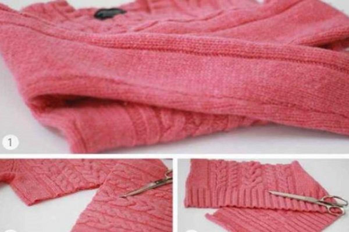 Kár lenne kidobni a régi pulóvereket, csodás dolgokat